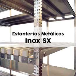 Estanterías Metálicas Inoxidables SX