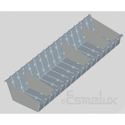 Estanterías metálicas cestones & divisores. Imagen #5