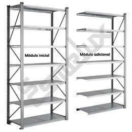Estantería metálica modular 2.500 mm altura. Imagen #2