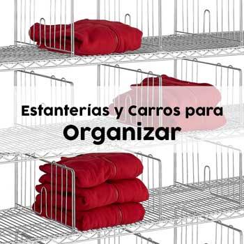 Estanterías Cromadas para organizar