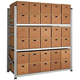Estanterías metálicas ligeras galvamil 5 estantes. Imagen #3