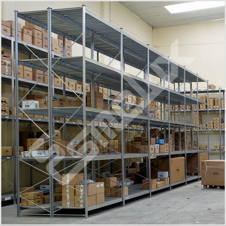 Estanter as almac n - Estanterias modulares metalicas ...