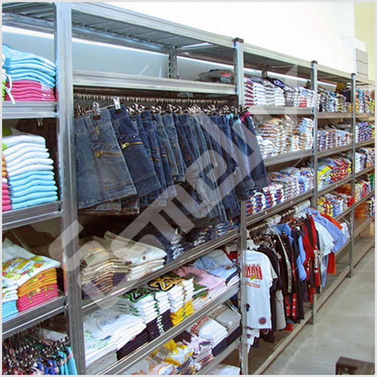 Estanterias para ropa elegant estanteras metlicas para - Estanteria para ropa ...