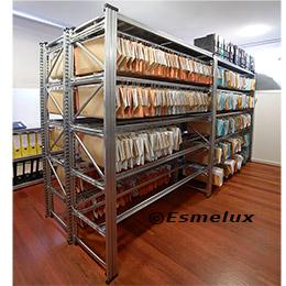 Estantes metálicos para carpetas colgantes. Imagen #5