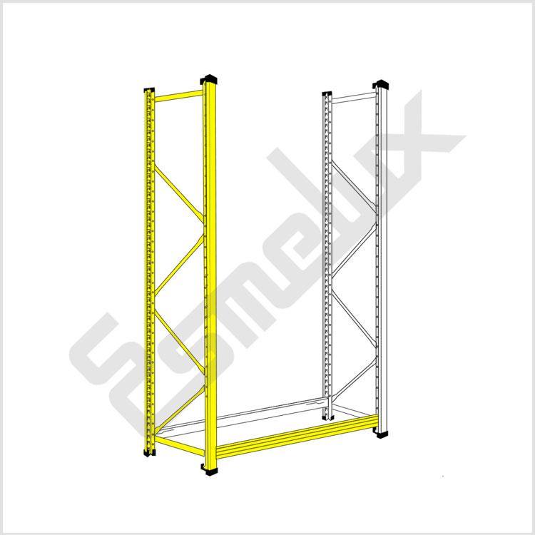 Montaje sin tornillos ni tuercas for Montaje de estanterias metalicas