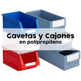 Gavetas y cajas plásticas