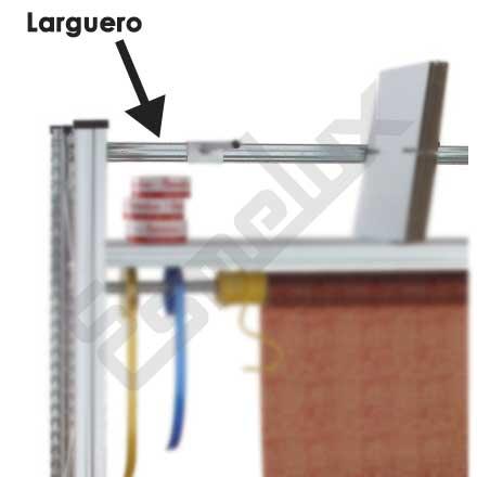 Tubos separadores para estanterías. Imagen #5
