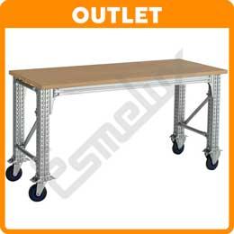 Mesa Trabajo OUTLET TS para taller Pesos Pesados