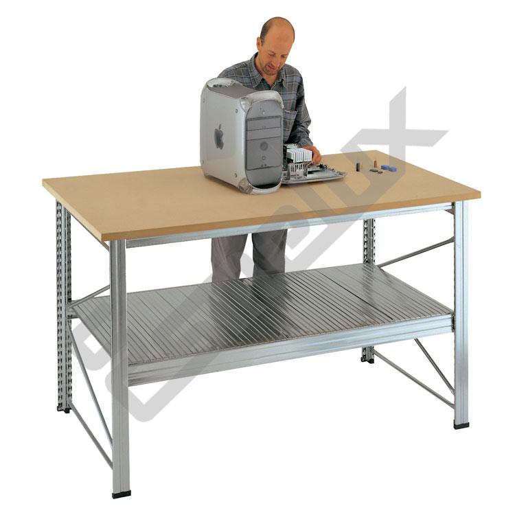 Mesa de trabajo en dm referencia 119541 - Mesa de trabajo bricolaje ...