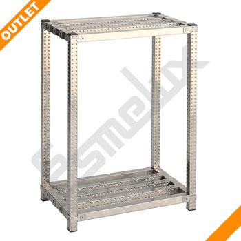 Mini Módulo acero inoxidable 2 estantes