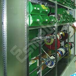 Estanterías metálicas para bobinas. Imagen #2