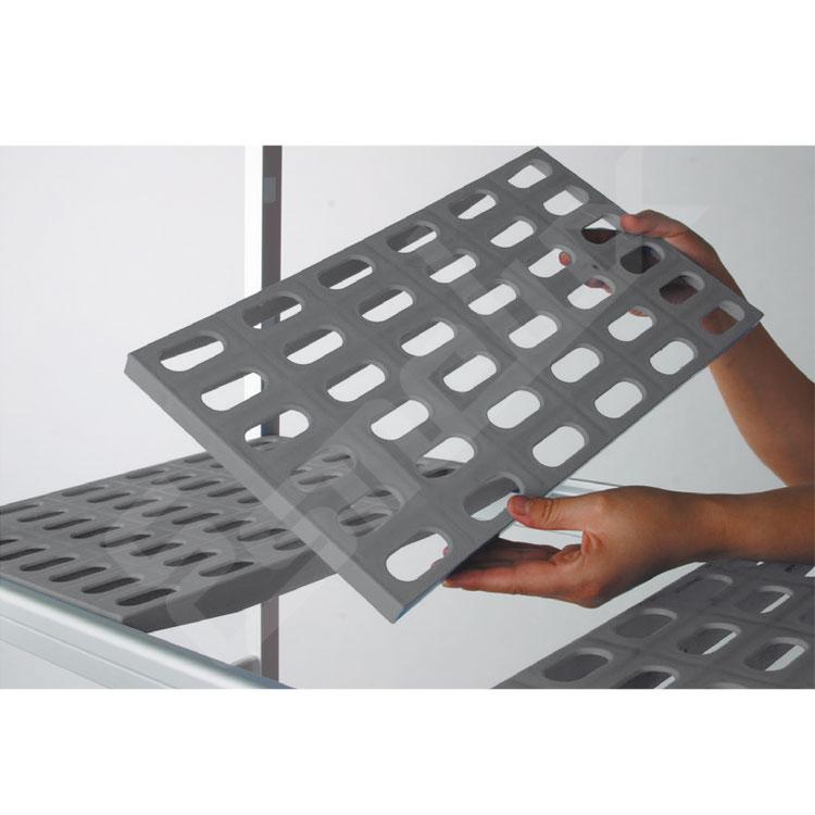 Estantes y Bastidores aluminio con Polipropileno. Imagen #2