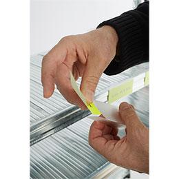 Portaetiquetas PVC por encaje. Imagen #2