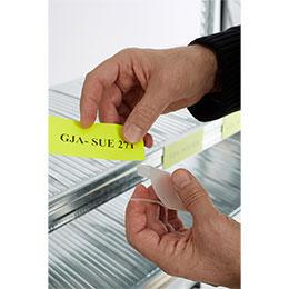 Portaetiquetas PVC por encaje. Imagen #1