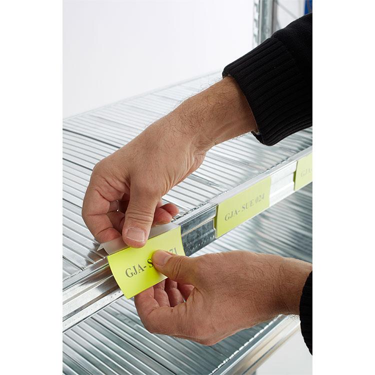 Portaetiquetas PVC por encaje. Imagen #3