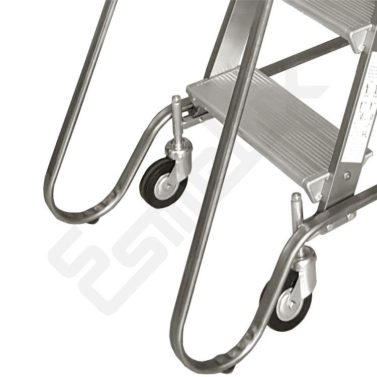 Escalera con ruedas SG. La seguridad, lo primero. Imagen #3