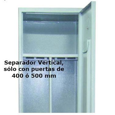 Taquilla Soldada 1 puerta por columna - 500 mm. Imagen #1