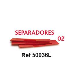 Lote n 02 de 10 separadores de cajones referencia 50036l - Separadores para cajones ...