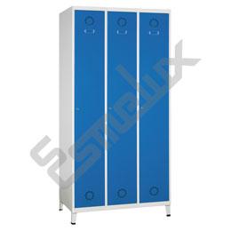 Taquilla Soldada 1 puerta por columna - 300 mm. Imagen #3