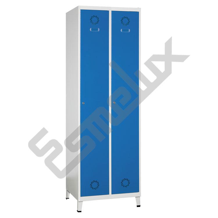 Taquilla Soldada 1 puerta por columna - 300 mm. Imagen #2