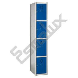 Taquillas Serie 4 con 1 columna, 4x1 = 4 puertas