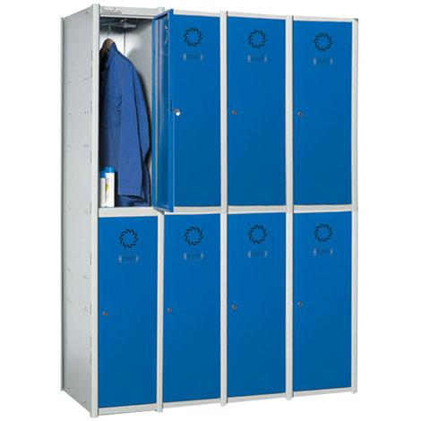 Taquilla de vestuario modular en acero 2 x 4