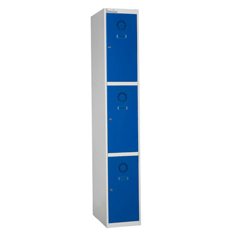 Taquilla de vestuario modular en acero 3 x 1
