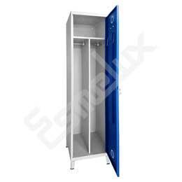 Taquilla Soldada 1 puerta por columna - 400 mm. Imagen #1