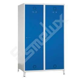Taquilla Soldada 1 puerta por columna - 500 mm
