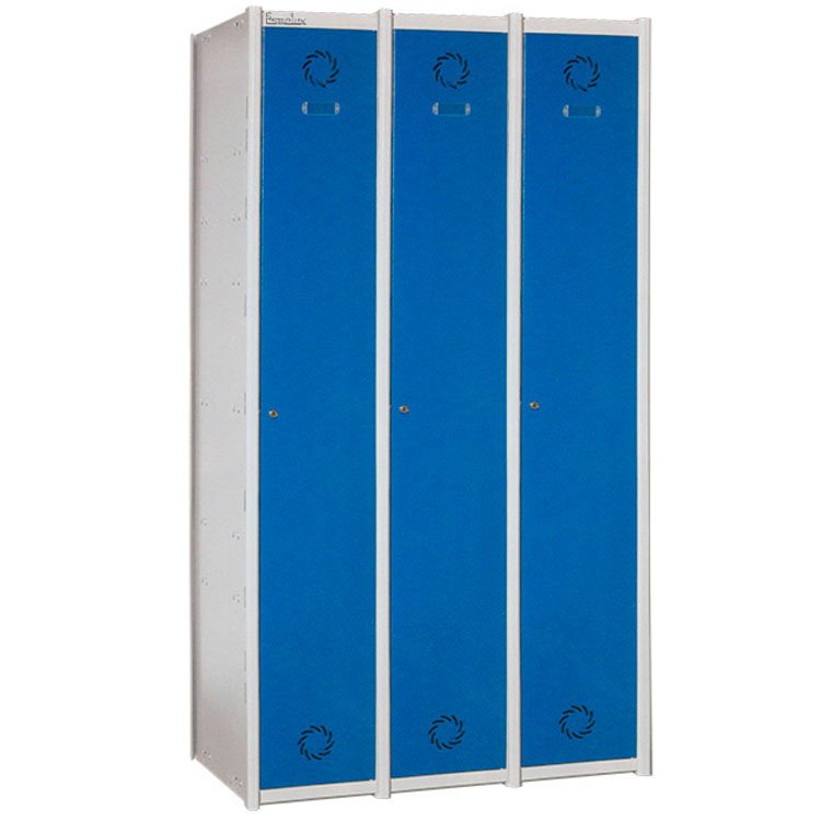 Precio taquilla modular en acero 1x3 para vestuarios - Acero modular precios ...