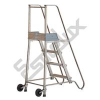 Escalera SG <font size=2>escalera de plataforma con ruedas</font>