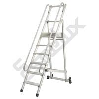 Escalera SP <font size=2>plegable y con ruedas</font>