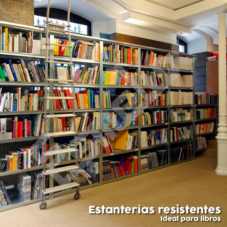 Estanterias metalicas para libros interesting estanteria - Estanterias de libros ...